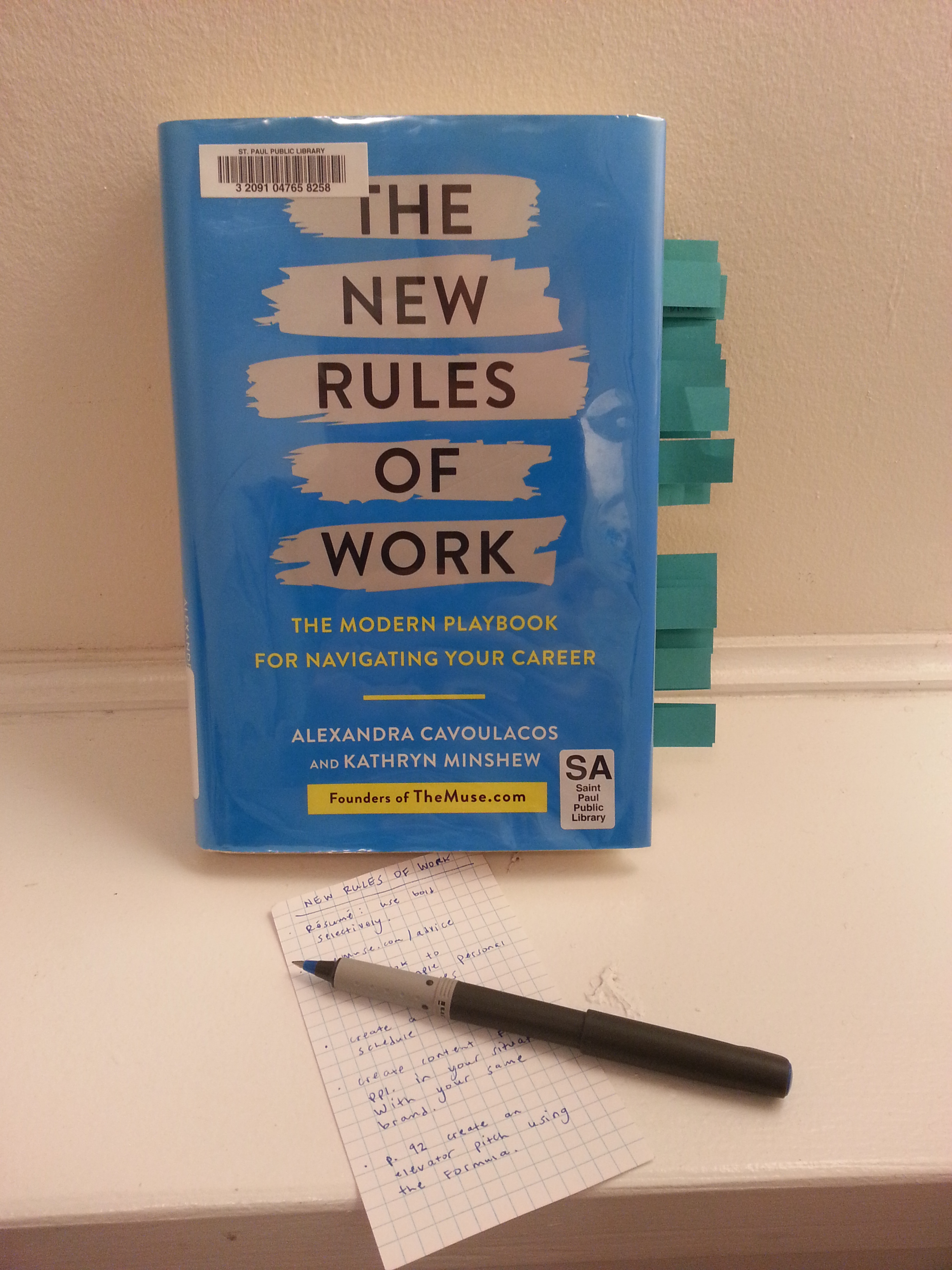 New Rules of Work and notes